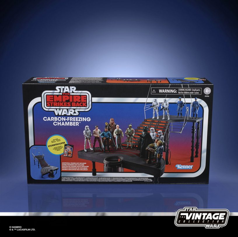 STAR WARS THE VINTAGE COLLECTION CARBON-FREEZING CHAMBER Playset - in pck (1)