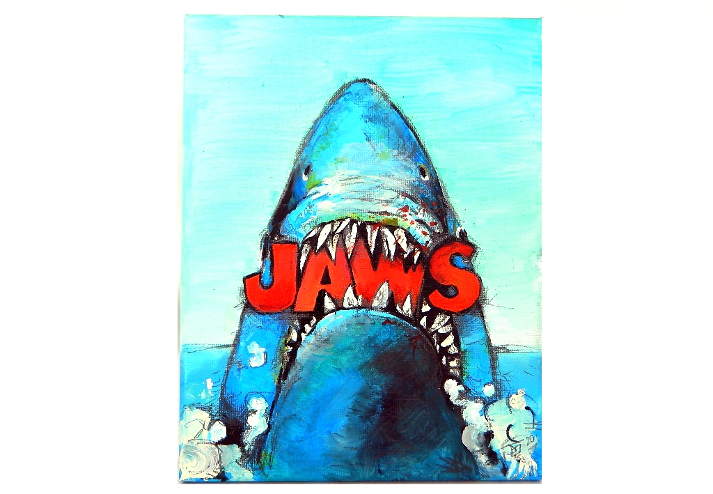 JAWS, Acrylic by Jeff Saylor