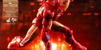 Hot Toys - IM2 - Iron Man Mark IV (Holographic Version) collectible figure_PR16