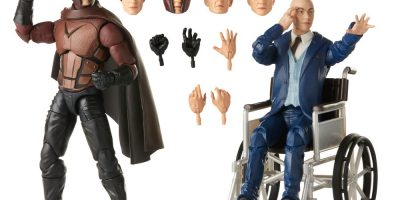 MARVEL LEGENDS SERIES X-MEN 20TH ANNIVERSARY 6-INCH MAGNETO AND PROFESSOR X Figure 2-Pack - oop (7)