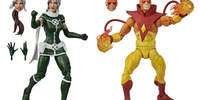 MARVEL LEGENDS SERIES 6-INCH MARVEL'S ROGUE AND PYRO Figure 2-Pack - oop (9)
