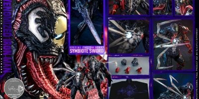 Hot Toys - AC - SMMV - Venomized Iron Man collectible figure_PR24 (Special)