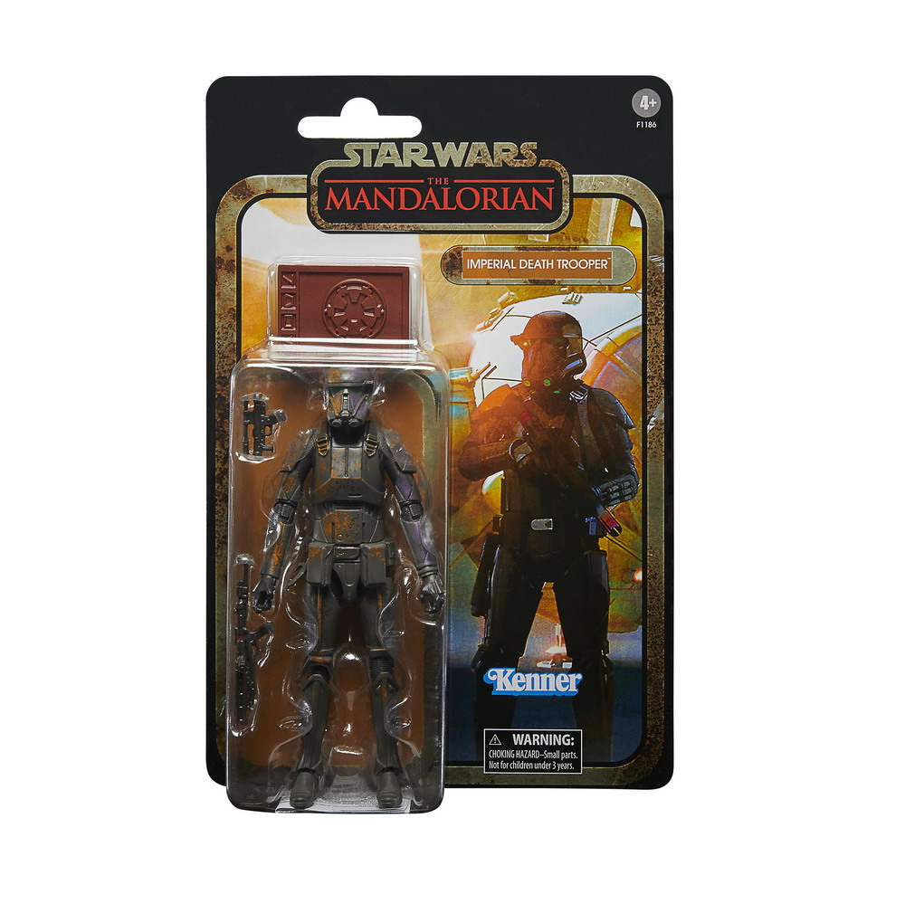 STAR WARS THE BLACK SERIES CREDIT COLLECTION 6-INCH DEATH TROOPER Figure - inpck 2