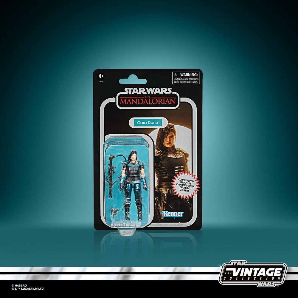 STAR WARS THE VINTAGE COLLECTION CARBONIZED COLLECTION 3.75-INCH CARA DUNE - inpck