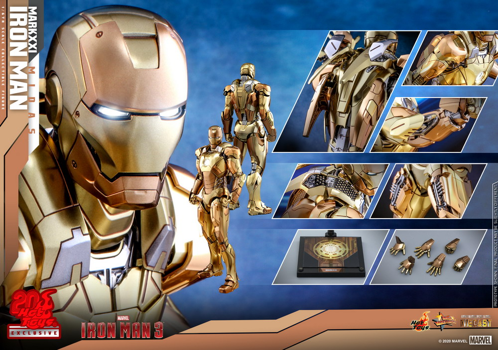 Hot Toys - IM3 - IM Mark XXI (Midas) collectible figure_PR18
