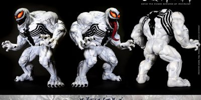 Hot Toys - Venom (Comic) - Anti Venom Artist Mix Designed by INSTINCTOY_PR17
