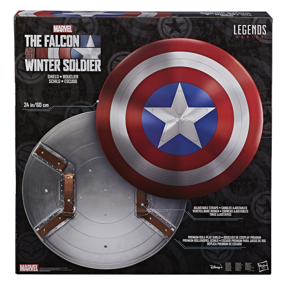 MARVEL LEGENDS SERIES THE FALCON & THE WINTER SOLDIER PREMIUM ROLE-PLAY SHIELD - pckging (1)