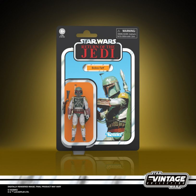 STAR WARS THE VINTAGE COLLECTION 3.75-INCH BOBA FETT Figure - in pck