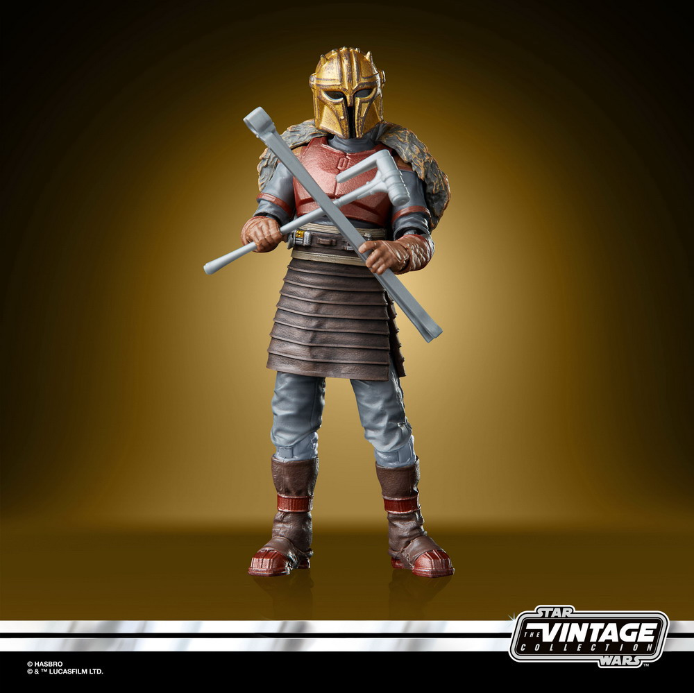 STAR WARS THE VINTAGE COLLECTION 3.75-INCH THE ARMORER Figure - oop (4)