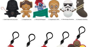 28945 Star Wars Christmas 3D Foam with Bag Clips