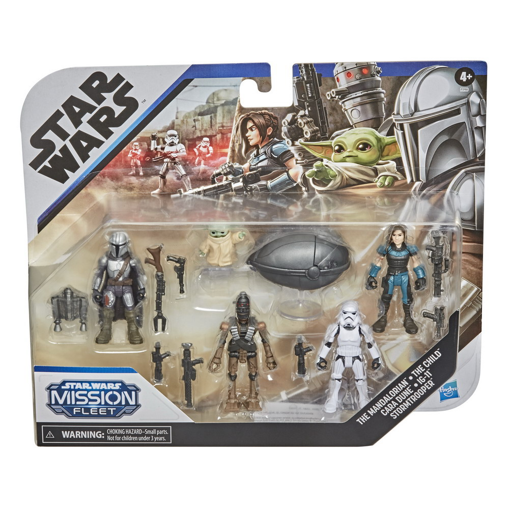 STAR WARS MISSION FLEET DEFEND THE CHILD Figure and Vehicle Pack - in pck