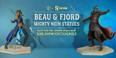 Sideshow Beau and Fjord Statues_Header