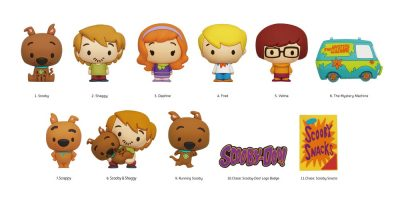 47225 Scooby-Doo 3D Foam Bag Clip Character Page CC Photo-01