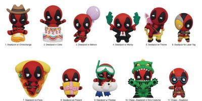 68685 Deadpool s5 3D Foam Bag Clip photo-01