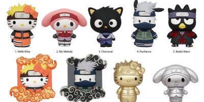 78080 Hello Kitty and Friends Mix Naruto 3D Foam Bag Clip Series(4Aug)-01