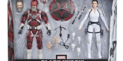 MARVEL LEGENDS SERIES 6-INCH RED GUARDIAN AND MELINA VOSTOKOFF Figure 2-Pack - in pck