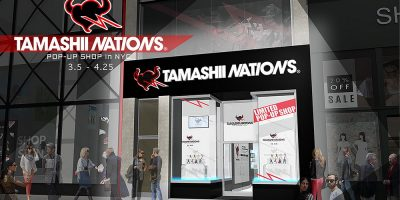Store Rendering - Tamashi Nations NYC Pop-Up