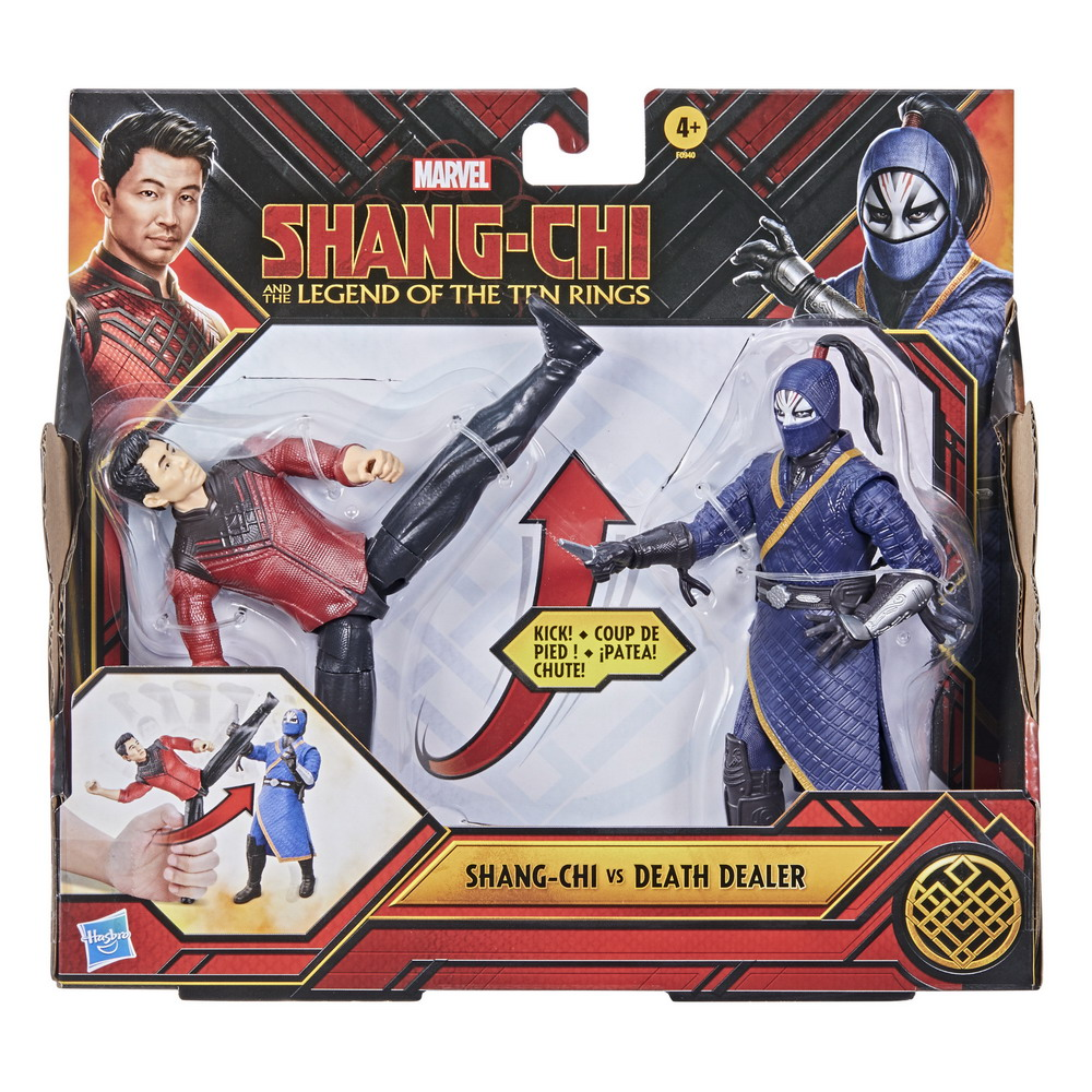 MARVEL SHANG-CHI AND THE LEGEND OF THE TEN RINGS 6-INCH BATTLE PACK Figures - pckging (2)