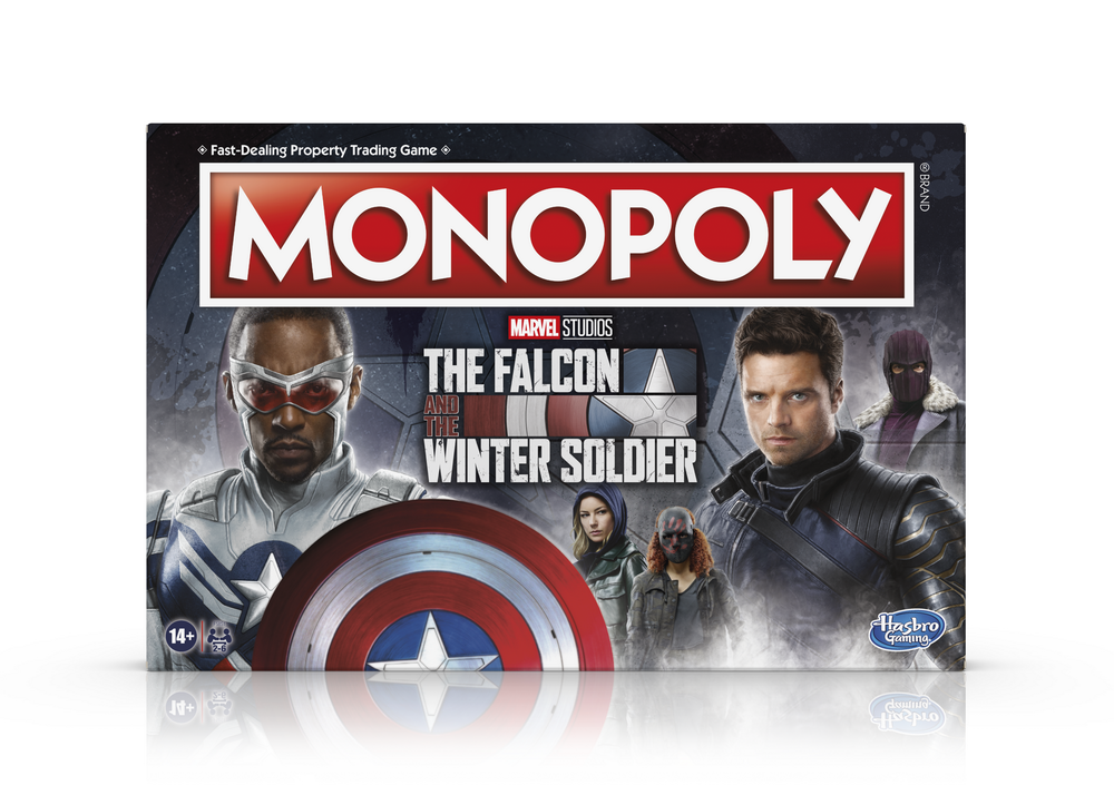 MONOPOLY MARVEL STUDIOS' THE FALCON AND THE WINTER SOLDIER EDITION