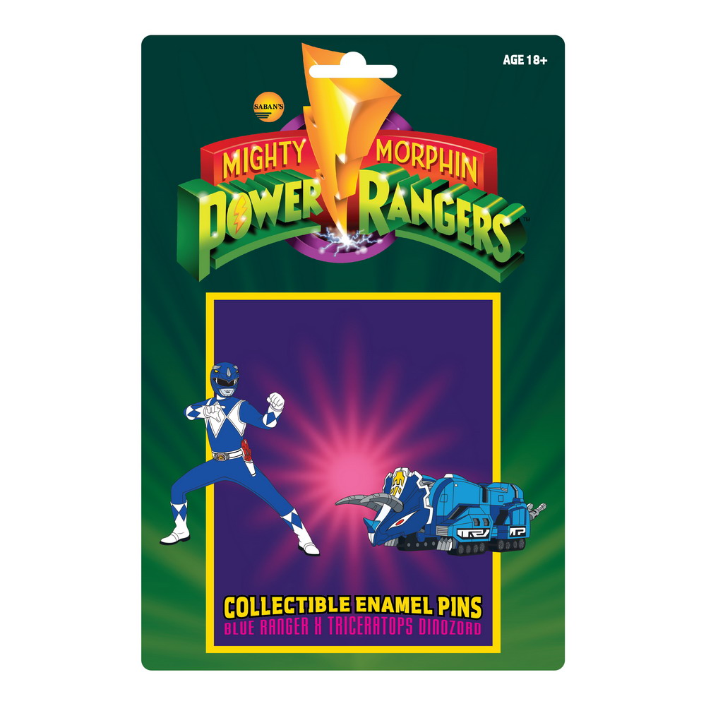 Blue Ranger and Triceratops Dinozord Pins Card Back-01