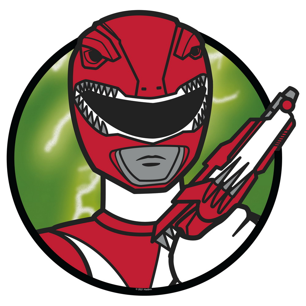 Red Ranger Mouse Pad