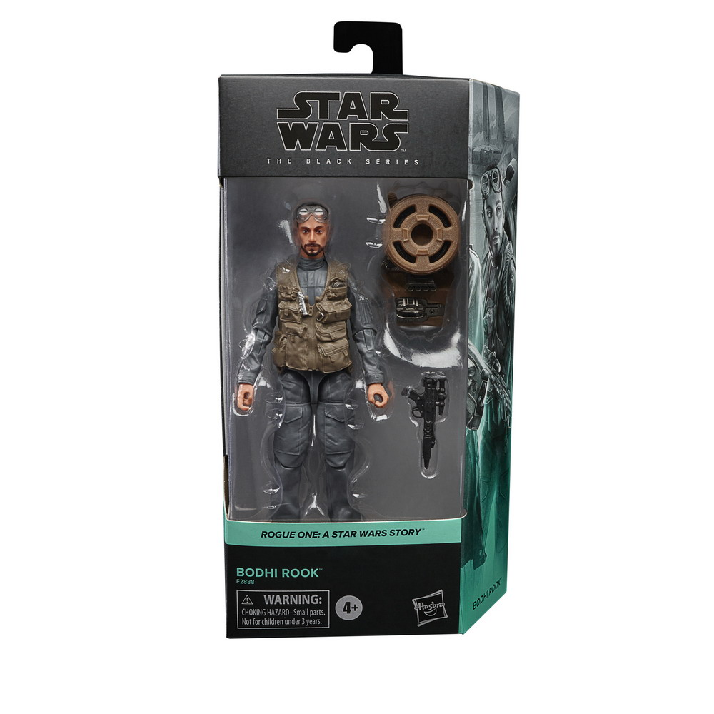 STAR WARS THE BLACK SERIES 6-INCH BODHI ROOK Figure - in pck (2)