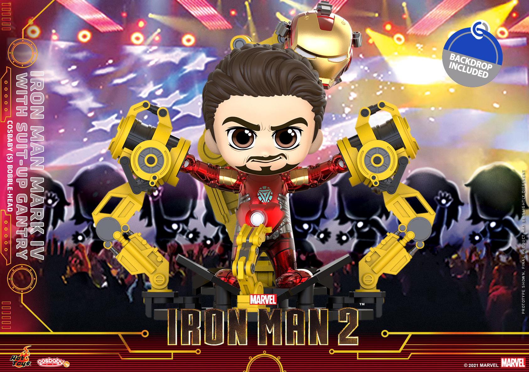 Hot Toys - IM2 - Iron Man Mark IV with Suit Up Gantry Cosbaby_PR1
