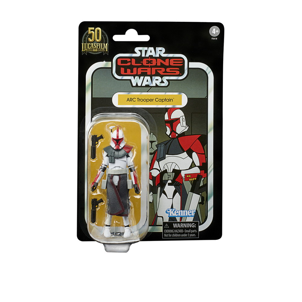STAR WARS THE VINTAGE COLLECTION 3.75-INCH ARC TROOPER CAPTAIN Figure 2