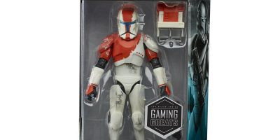 STAR WARS THE BLACK SERIES GAMING GREATS 6-INCH RC-1138 (BOSS) Figure in pck 3