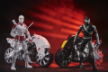Snake Eyes and Storm Shadow with Stealth Cycle
