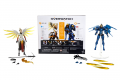 OVERWATCH ULTIMATES SERIES 6-INCH DUAL PACK Figure Assortment - Pharah & Mercy oop (3) & pckging