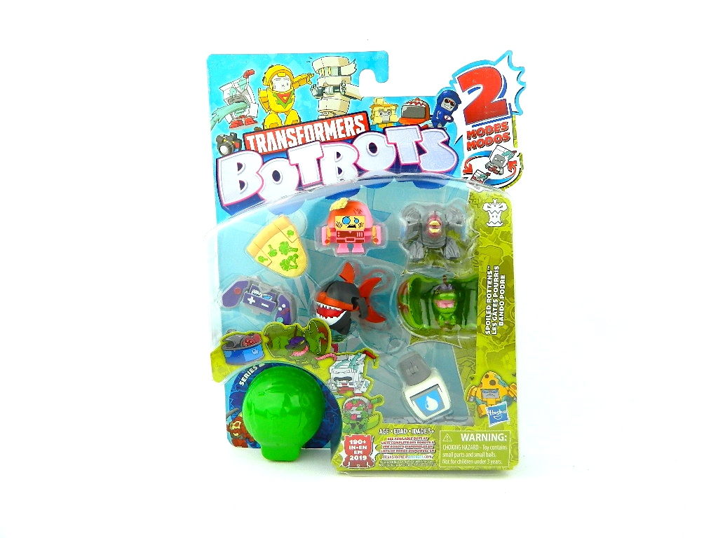Transformers Botbots King Candyhooves Complete Unicorn
