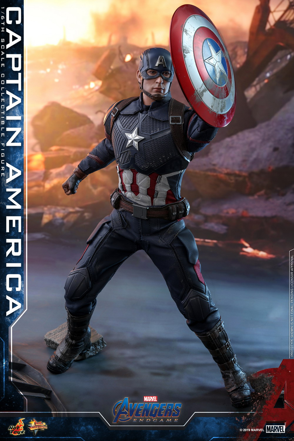 Captain America And Captain Marvel Toys