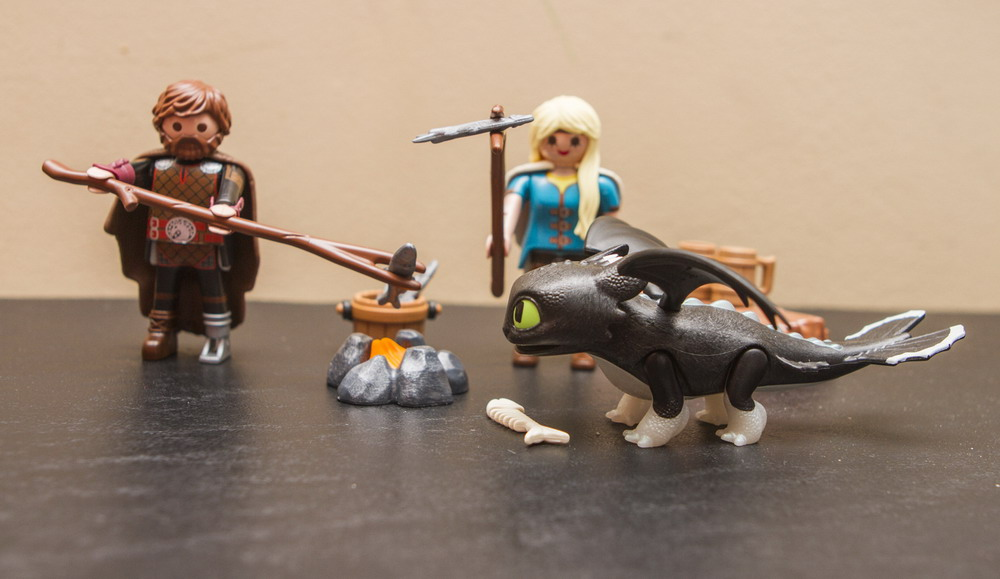 PLAYMOBIL How to Train Your Dragon III Astrid /& Hiccup